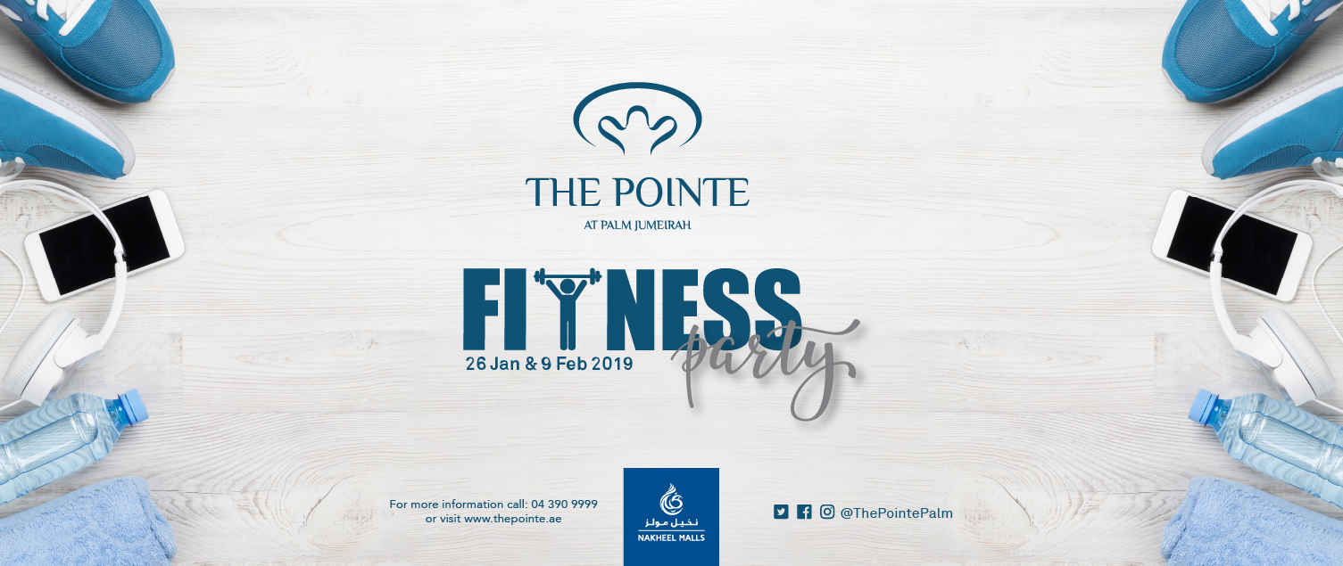 Fitness becomes fun with free-to-attend weekend workouts at The Pointe at Palm Jumeirah
