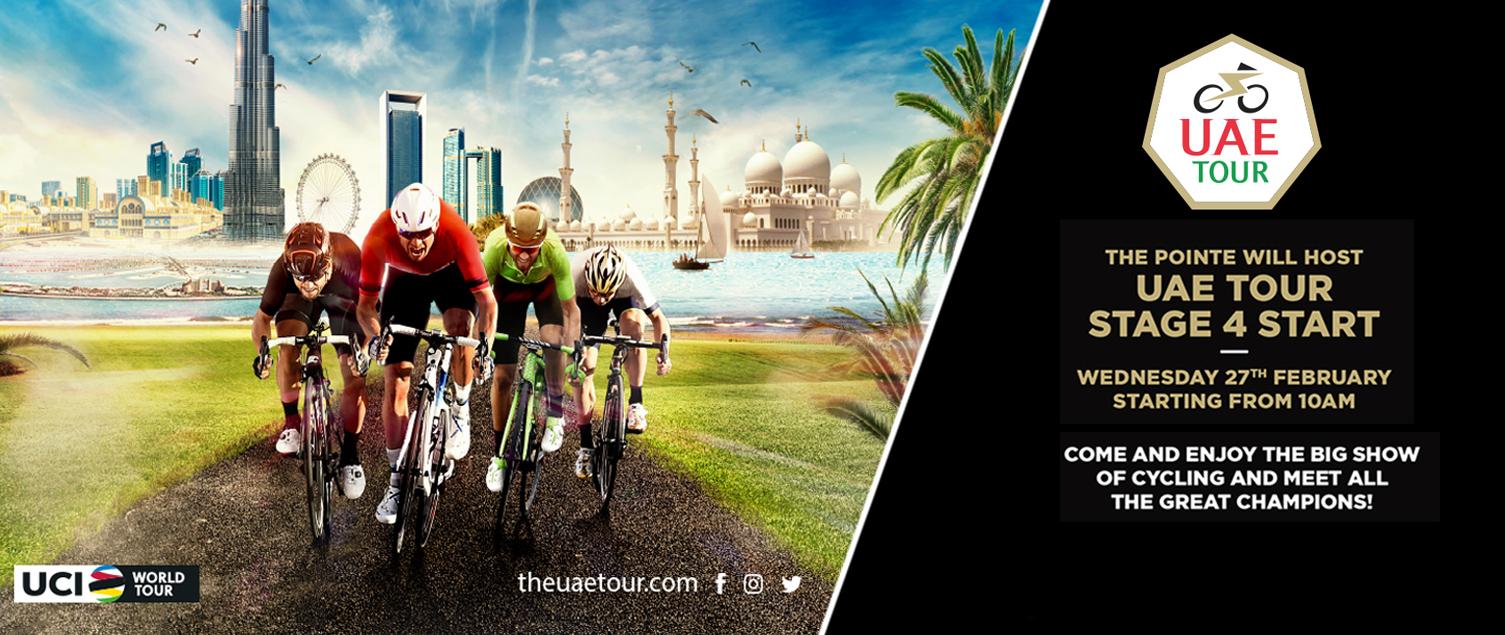 THE POINTE WILL HOST UAE TOUR STAGE 4 START