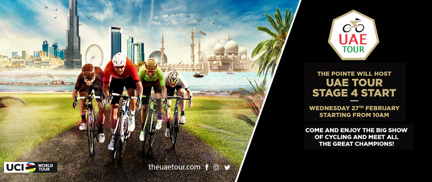THE POINTE WILL HOST UAE TOUR STAGE 4 START